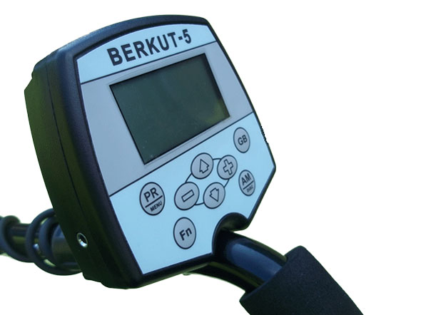 AKA Berkut 5 metal detector from Garys detecting