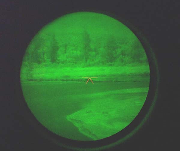 Generation 3 night vision image