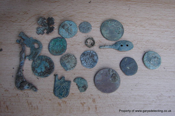 Vista Gold finds roman coins