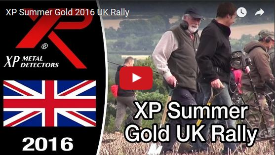 XP summer Gold metal detecting rally in the UK watch the video of this massive event